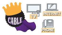 Cable TV, Internet, Phone Services